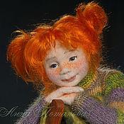 Куклы и игрушки ручной работы. Ярмарка Мастеров - ручная работа Пеппилотта Виктуалия Рульгардина Крисминта Эфраимсдоттер Длинныйчулок. Handmade.