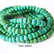 Материалы для творчества handmade. Livemaster - original item Green TURQUOISE (No. №116). Handmade.