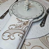 Для дома и интерьера handmade. Livemaster - original item Napkins Cutlery. Handmade.