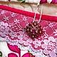 органайзер `Розовое чудо`, на стену, кармашки, органайзер