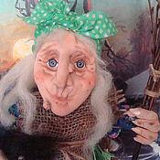 Куклы и игрушки ручной работы. Ярмарка Мастеров - ручная работа Баба яга - оберег для дома.. Handmade.