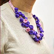 Украшения handmade. Livemaster - original item Jewelry sets: Roses with bubbles. Handmade.