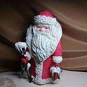 Куклы и пупсы ручной работы. Ярмарка Мастеров - ручная работа Дед мороз 30см.. Handmade.