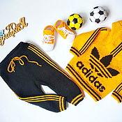 Одежда детская handmade. Livemaster - original item Adidas tracksuit