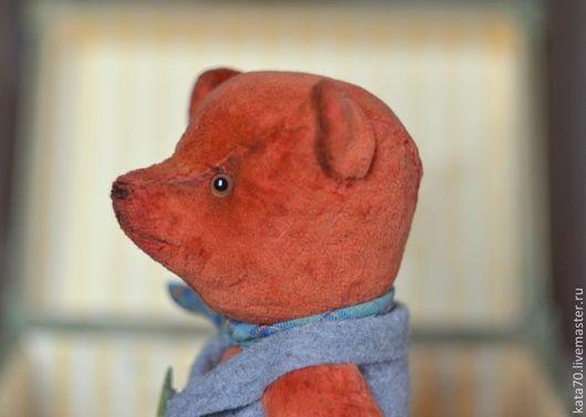 Мишки Тедди ручной работы. Ярмарка Мастеров - ручная работа. Купить Mr. Carrots. Handmade. Оранжевый, тедди, бархат, гранулят
