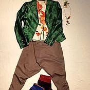 """Одежда ручной работы. Ярмарка Мастеров - ручная работа Блейзер """"Шёлковая клетка"""". Handmade."""