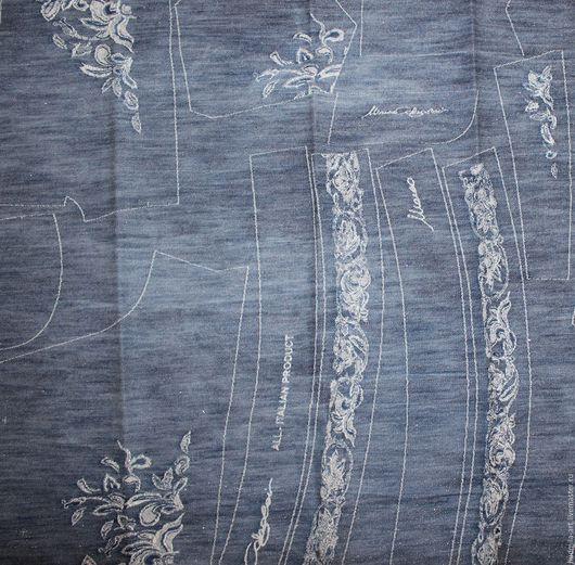 Шитье ручной работы. Ярмарка Мастеров - ручная работа. Купить джинсовая ткань на шорты  италия. Handmade. Голубой, шорты