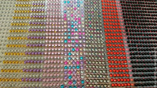 Другие виды рукоделия ручной работы. Ярмарка Мастеров - ручная работа. Купить Стразы клеевые, 3 мм.. Handmade. Разноцветный