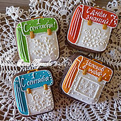 Сувениры и подарки handmade. Livemaster - original item Copy of Gingerbread. A gift for puples.. Handmade.