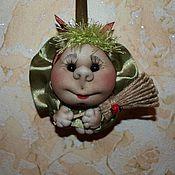 Куклы и игрушки ручной работы. Ярмарка Мастеров - ручная работа Куколки-сувениры для авто. Handmade.