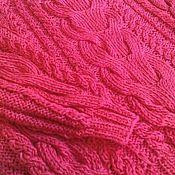 Одежда ручной работы. Ярмарка Мастеров - ручная работа Малиновый пуловер из хлопка. Handmade.