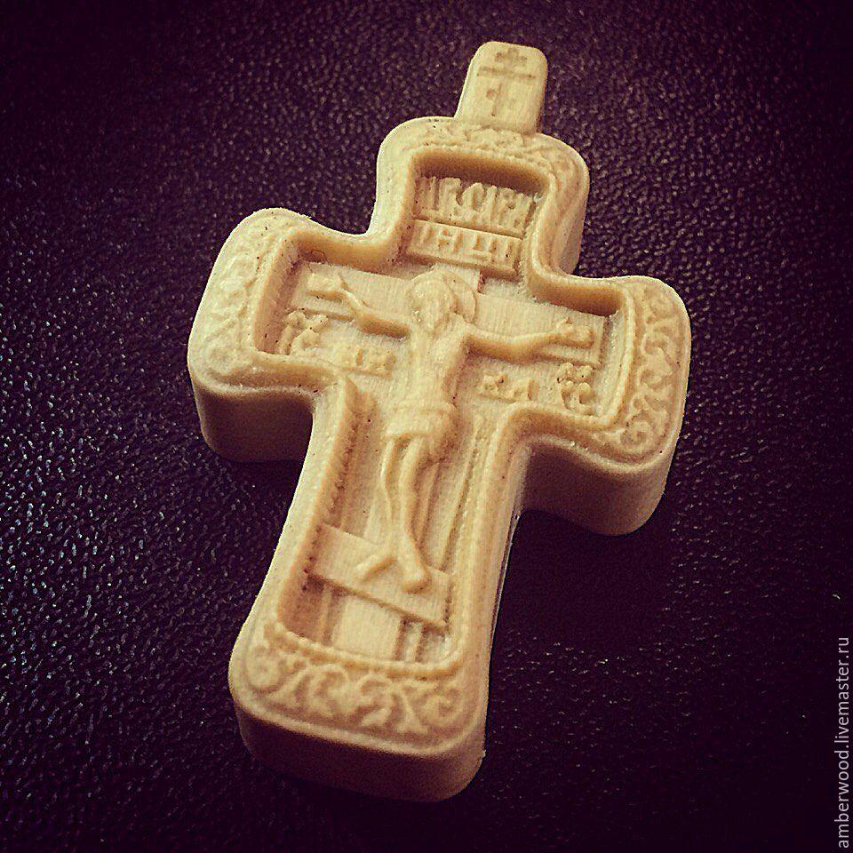 Cross carved from wood, Locket, Kaliningrad,  Фото №1
