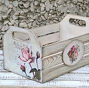 Для дома и интерьера ручной работы. Ярмарка Мастеров - ручная работа Ящик Секрет. Handmade.