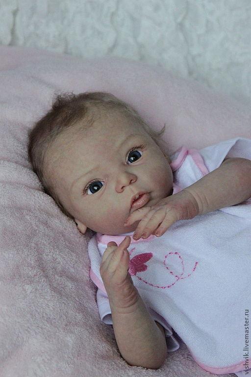 Куклы-младенцы и reborn ручной работы. Ярмарка Мастеров - ручная работа. Купить Ливия 3. Handmade. Кукла в подарок, генезис