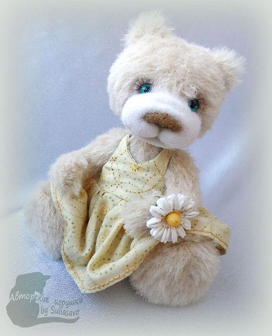 Мишки Тедди ручной работы. Ярмарка Мастеров - ручная работа. Купить Мамина дочка. Handmade. Мишки тедди, глаза стеклянные