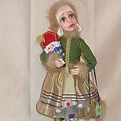 """Куклы и игрушки ручной работы. Ярмарка Мастеров - ручная работа Авторская кукла """"Маша и Щелкунчик ( по мотивам)"""" из полимерной глины. Handmade."""