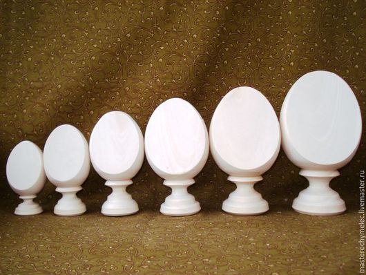 Декупаж и роспись ручной работы. Ярмарка Мастеров - ручная работа. Купить Яйца усеченные,монолит. Handmade. Яйцо, Заготовка яйцо