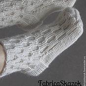 Аксессуары ручной работы. Ярмарка Мастеров - ручная работа Вязаные шерстяные носки. Handmade.