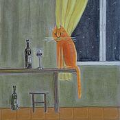 """Картины и панно ручной работы. Ярмарка Мастеров - ручная работа Пастель """"Хороший вечер"""". Handmade."""