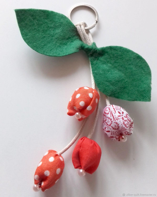 Брелок Букет тюльпанов