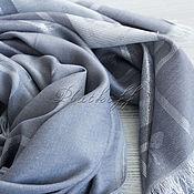 Аксессуары handmade. Livemaster - original item Luxury gray slim women`s stole fabric Gucci