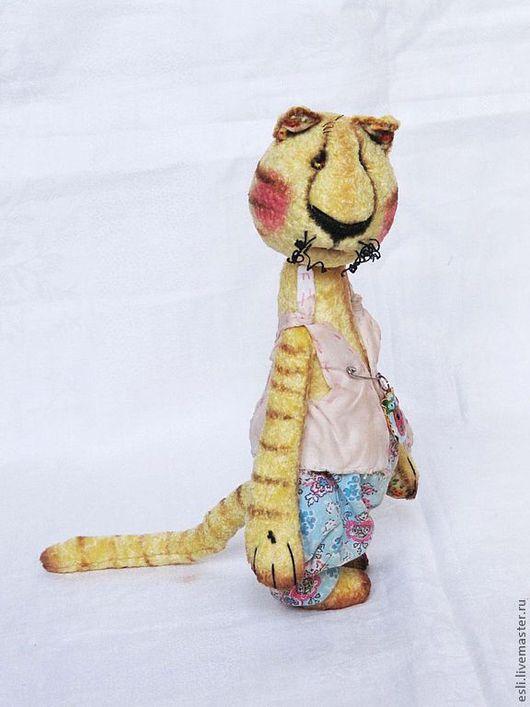 Мишки Тедди ручной работы. Ярмарка Мастеров - ручная работа. Купить Солнечный котан. Handmade. Желтый, батист
