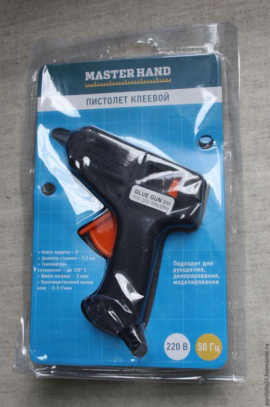 Другие виды рукоделия ручной работы. Ярмарка Мастеров - ручная работа. Купить Пистолет клеевой. Handmade. Черный, пистолет клеевой