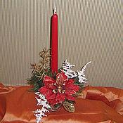 """Подарки к праздникам ручной работы. Ярмарка Мастеров - ручная работа Новогодняя композиция """"Радость"""". Handmade."""