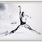 Картины и панно ручной работы. Ярмарка Мастеров - ручная работа картина 3 Балет- любовь моя. Handmade.