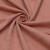 Материалы для творчества ручной работы. Ярмарка Мастеров - ручная работа Ткань замша стрейч розовая одежная. Handmade.