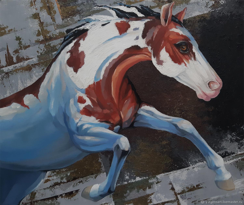 Картина с лошадью, Картины, Санкт-Петербург,  Фото №1