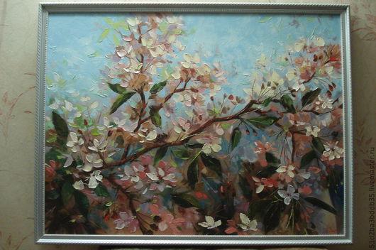 Картины цветов ручной работы. Ярмарка Мастеров - ручная работа. Купить Цветы. Handmade. Картина, картина в подарок, картина для интерьера