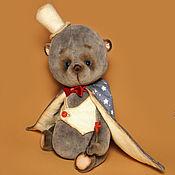 Куклы и игрушки ручной работы. Ярмарка Мастеров - ручная работа Мишка тедди Маленький фокусник. Handmade.