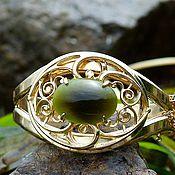 Винтаж handmade. Livemaster - original item Bracelet and Clip earrings Whiting&Davis, 1950. Handmade.