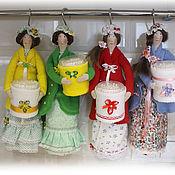 Куклы и игрушки ручной работы. Ярмарка Мастеров - ручная работа Хранительница ватных дисков. Handmade.