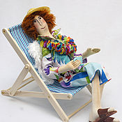 Куклы и игрушки ручной работы. Ярмарка Мастеров - ручная работа Ангел на отдыхе. Подарок подруге.. Handmade.