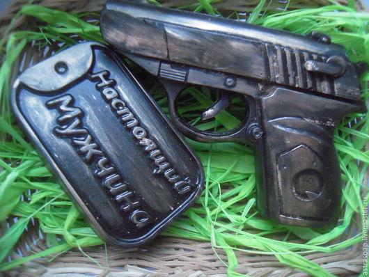 пистолет мыло пистолет подарок мужчине подарок офицеру подарок мужу настоящий мужчина 23 февраля