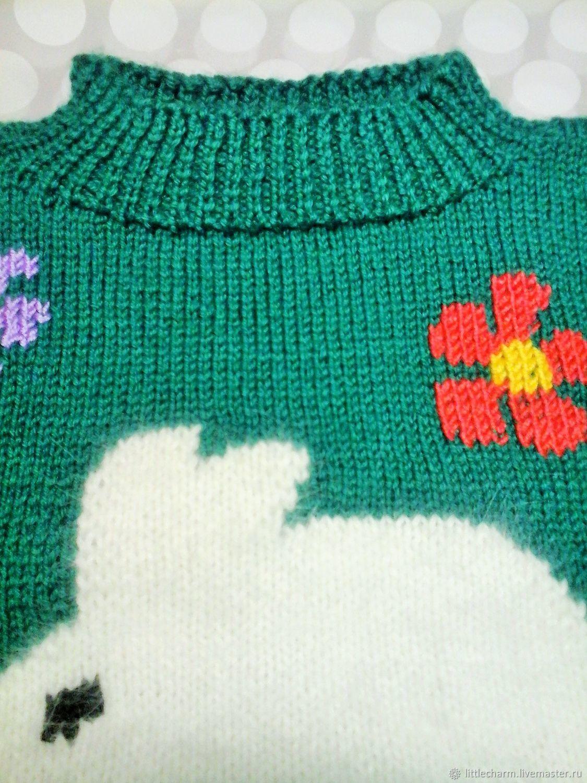 Пуловер Зайка