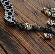 Сувениры и подарки handmade. Livemaster - original item Bead for lanyard Rune. Handmade.