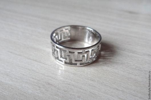 """Кольца ручной работы. Ярмарка Мастеров - ручная работа. Купить Серебряное кольцо """"Орнамент"""". Handmade. Серебро 925 пробы"""