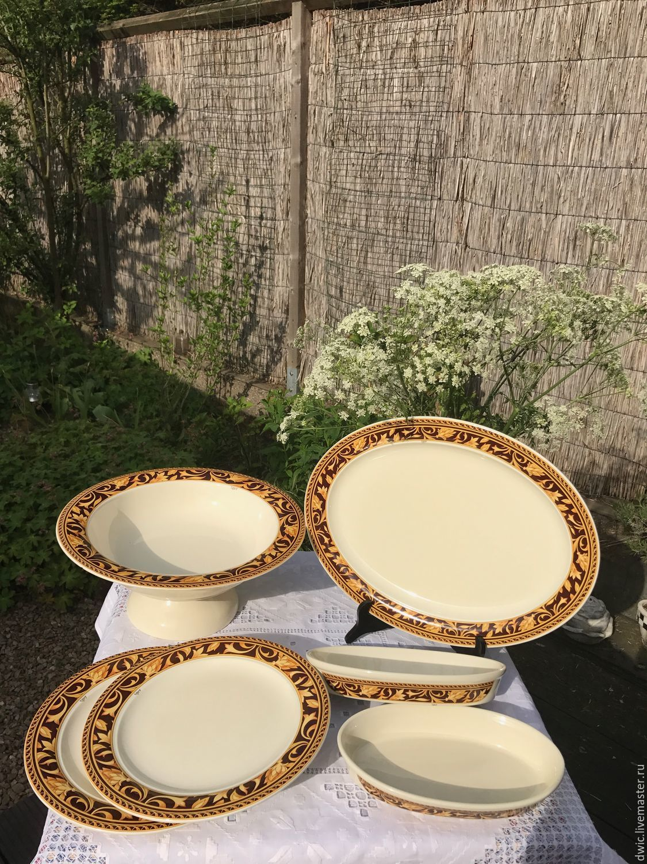 Set of dishes 'Tiffany', Italy, Vintage sets, Arnhem,  Фото №1