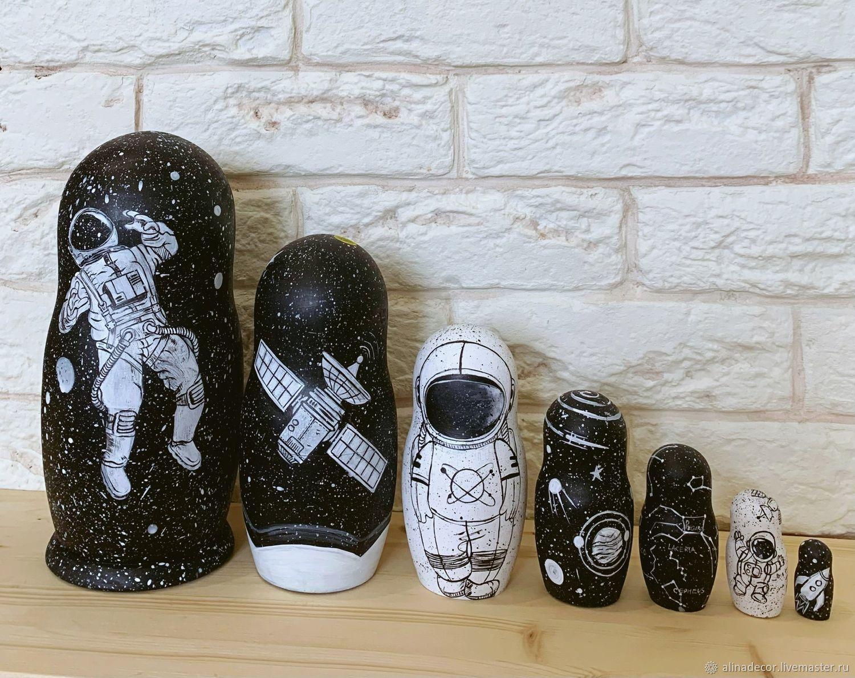 Matryoshka dolls Cosmos, Dolls1, Ramenskoye,  Фото №1