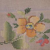 Предметы интерьера винтажные ручной работы. Ярмарка Мастеров - ручная работа Винтажная салфетка. Handmade.