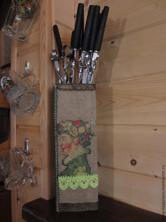 Кухня ручной работы. Ярмарка Мастеров - ручная работа. Купить Короб для шампуров.. Handmade. Разноцветный, пикник, фанера 6 мм