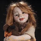 Куклы и игрушки ручной работы. Ярмарка Мастеров - ручная работа Сонечка. Авторская войлочная кукла. Handmade.