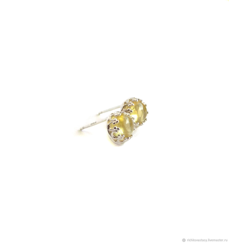 Stud earrings Lime nectar, Stud earrings, Kirov,  Фото №1