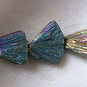 Материалы для творчества ручной работы. Ярмарка Мастеров - ручная работа Висмут кристаллы , бусины. Handmade.