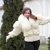 Одежда ручной работы. Ярмарка Мастеров - ручная работа Зимняя куртка . Handmade.