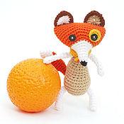 """Куклы и игрушки ручной работы. Ярмарка Мастеров - ручная работа Игрушка лиса вязаная """"Лиса Патрикеевна"""", лиса игрушка, вязаная лиса. Handmade."""