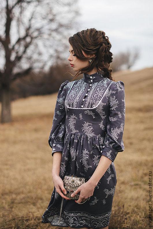 """Платья ручной работы. Ярмарка Мастеров - ручная работа. Купить Платье """"Серое"""". Handmade. Платье, Платье нарядное, платье вечернее"""